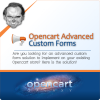 Advanced Custom Forms for Opencart